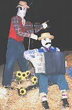 Scarecrow Bush Band Idea