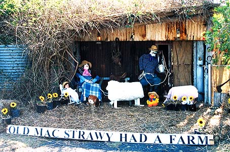 Old MacDonald Had a Farm Scarecrow Idea