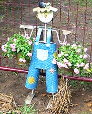 Gardening Scarecrow Ideas, Farming Scarecrow Ideas